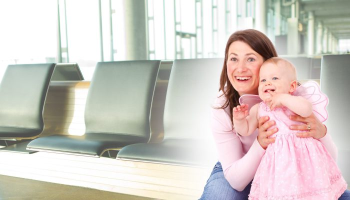 Keep Toddlers Entertained At Airport